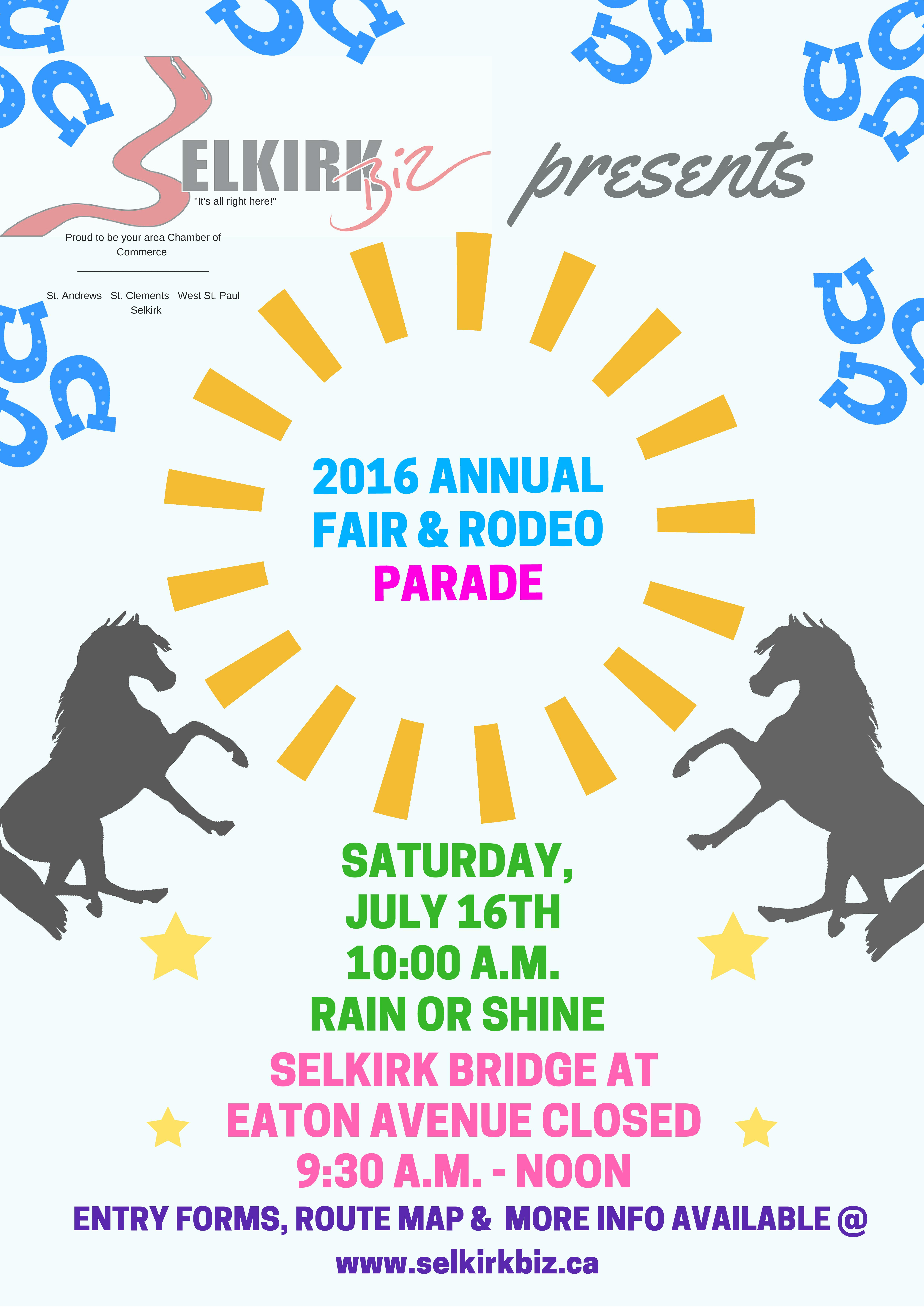 2016 parade poster