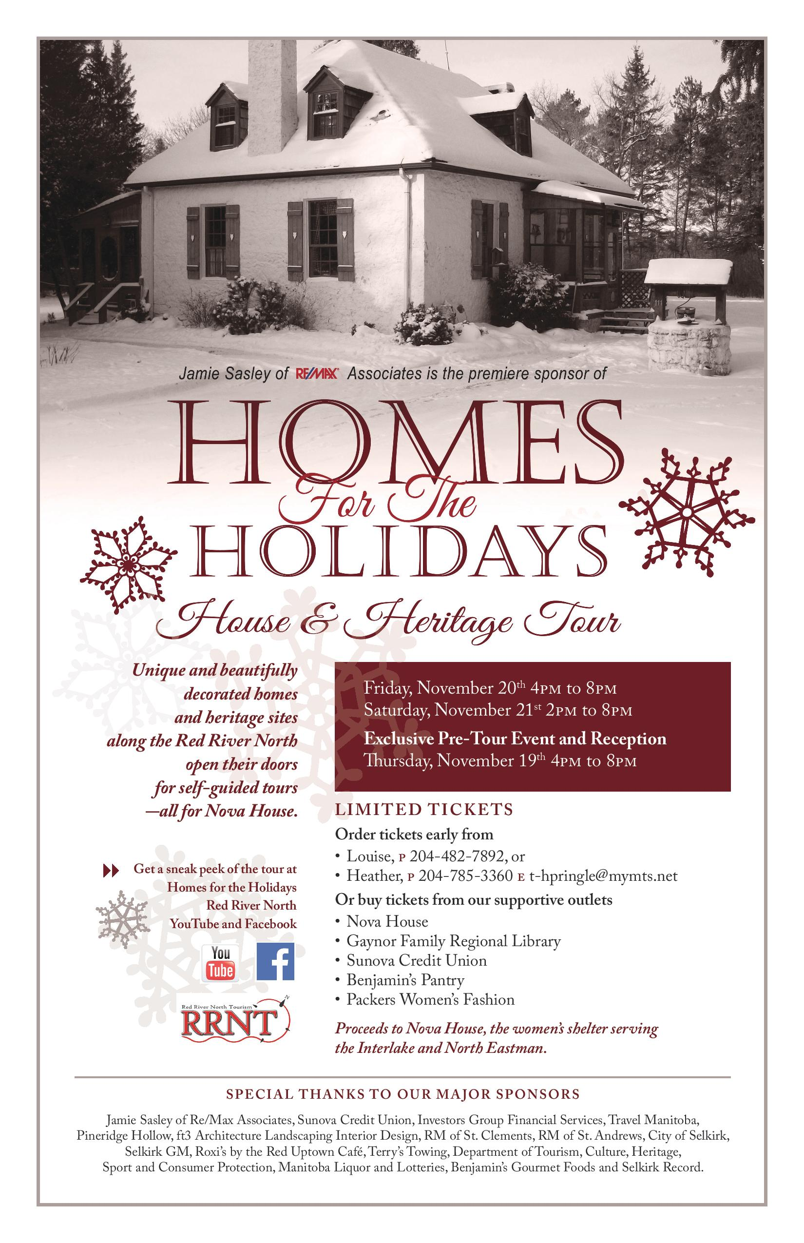 Homes for the Holidays poster
