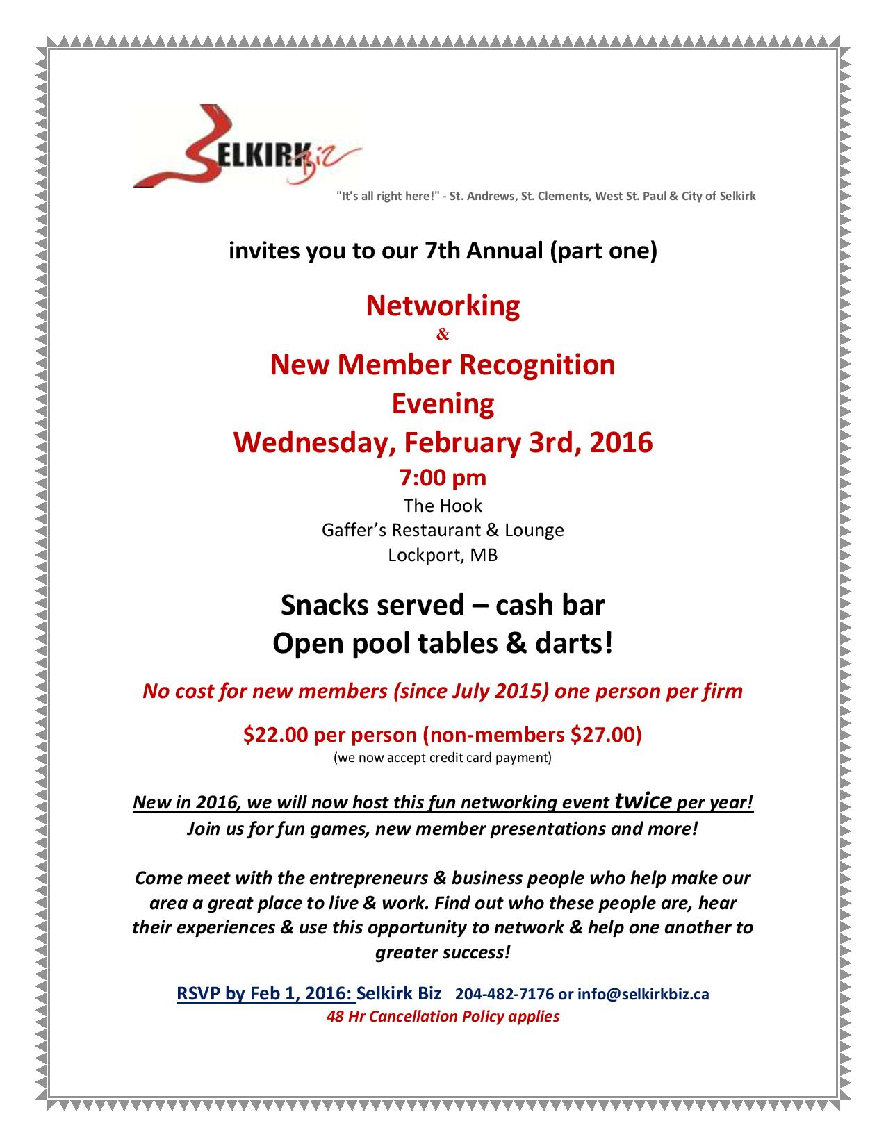 Biz Network Night Feb 3