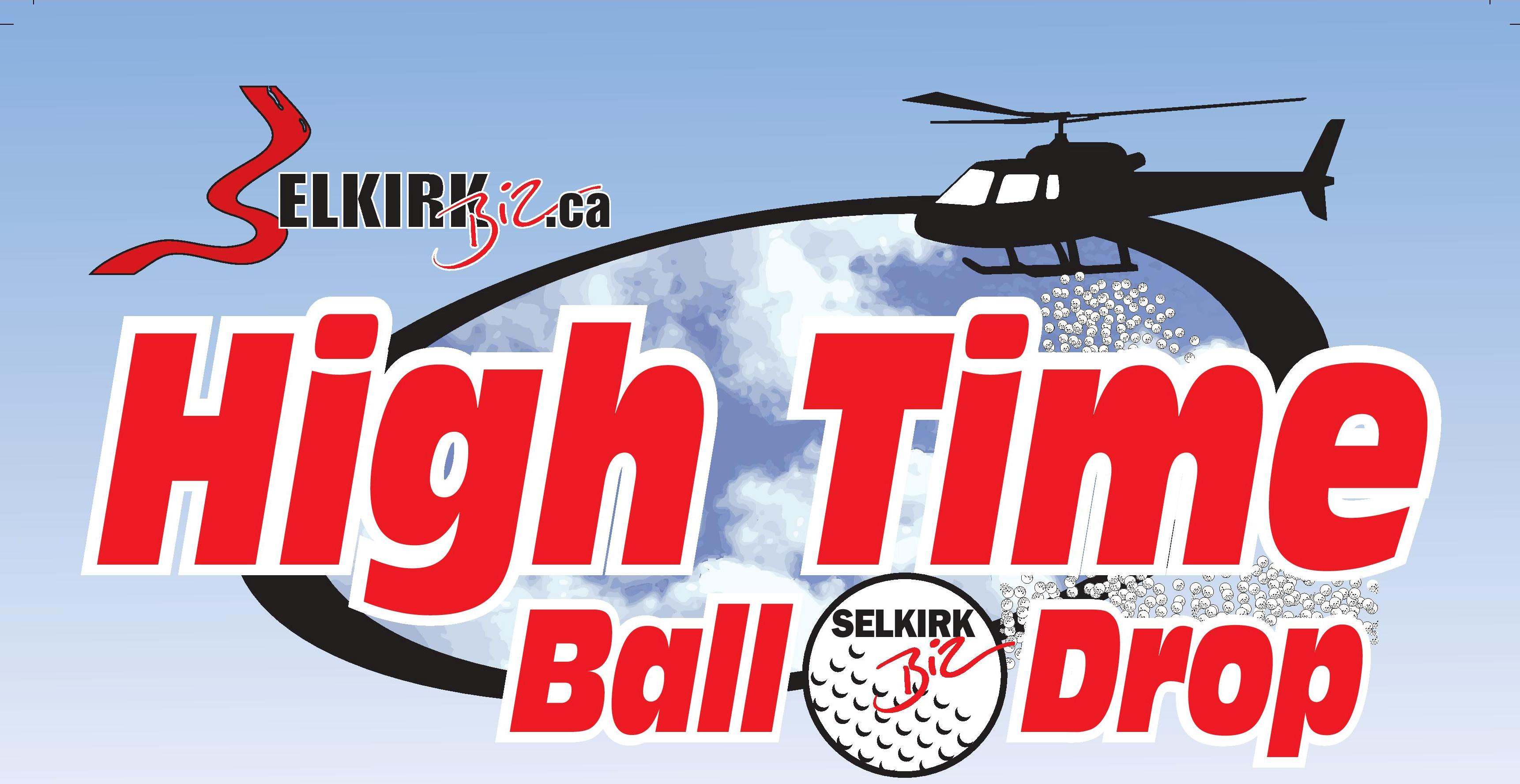 Golf Ball Drop Poster