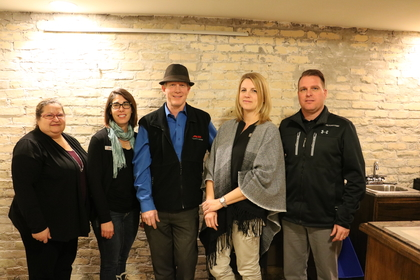 Selkirk and District Chamber of Commerce 2012 Executive Board